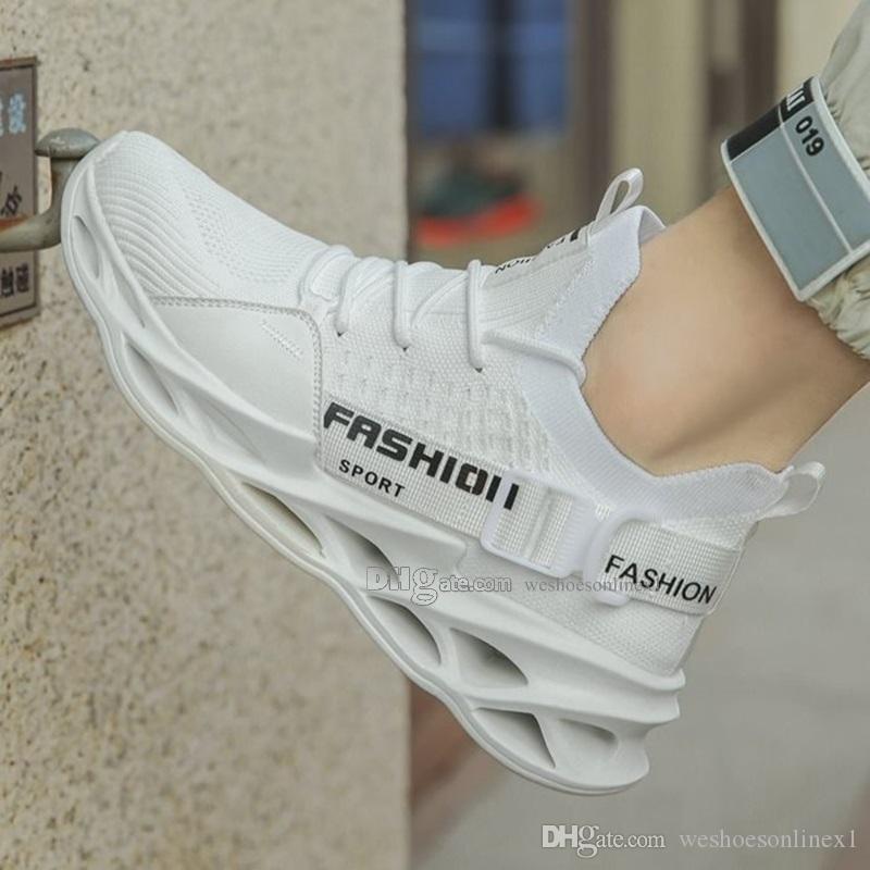 2020 Мода Мужская обувь Mesh дышащие кроссовки Wlking Мужчины Обувь New Комфортная Lightweight Running спортивная обувь CB20200372