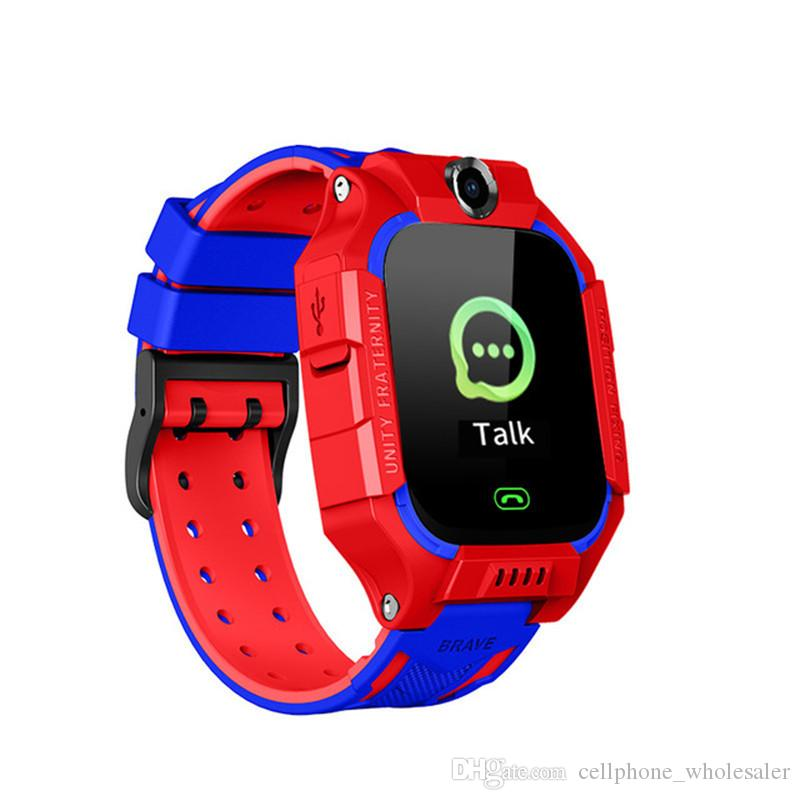 Q19 Kids Children Smart Watch LBS Positioning Lacation SOS Smart Bracelet With Camera Flashlight Wearable Wristwatch For Baby Safety Student