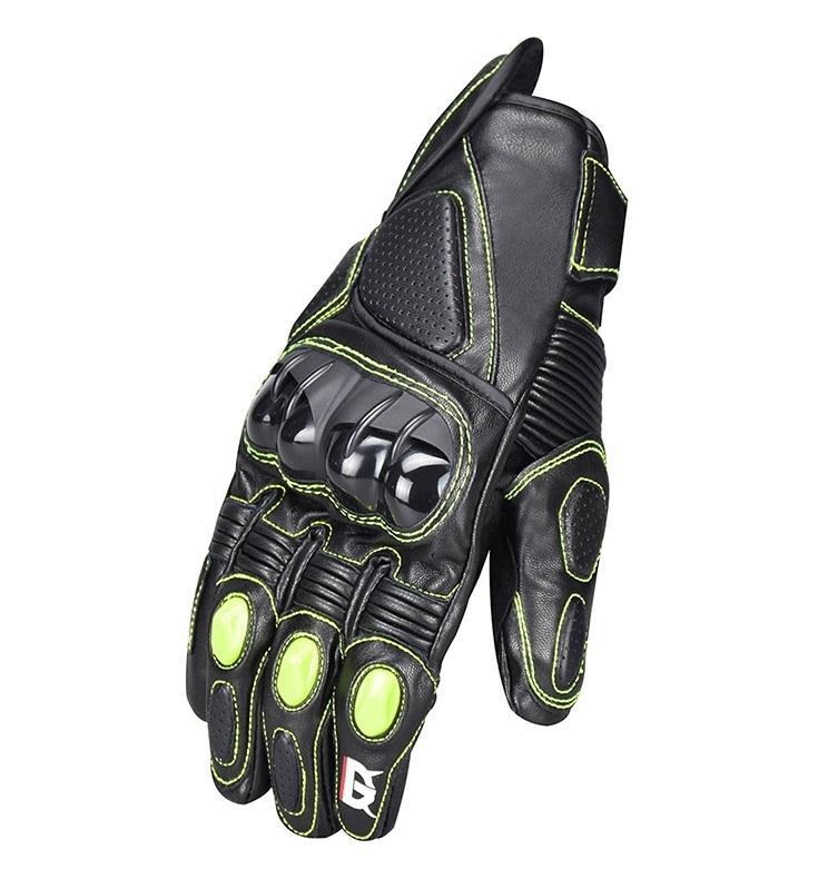 Cuatro estaciones guantes de moto contra Otoño-guantes de carreras fuera de carretera transpirables / guantes de motociclistas guantes de montar en bicicleta de los hombres 2 colores