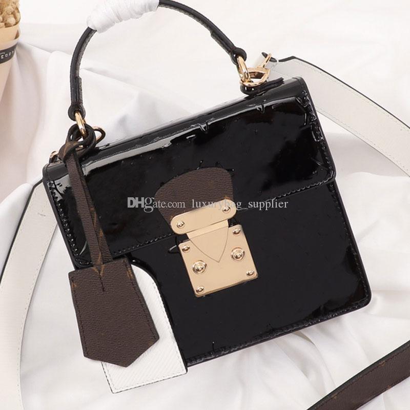 حقائب عالية الجودة المرأة المحافظ حقائب جلدية حقيقية حقائب جلدية المرأة الكتف حقيبة الصليب حقيبة الجسم طلاء M90376 شحن مجاني