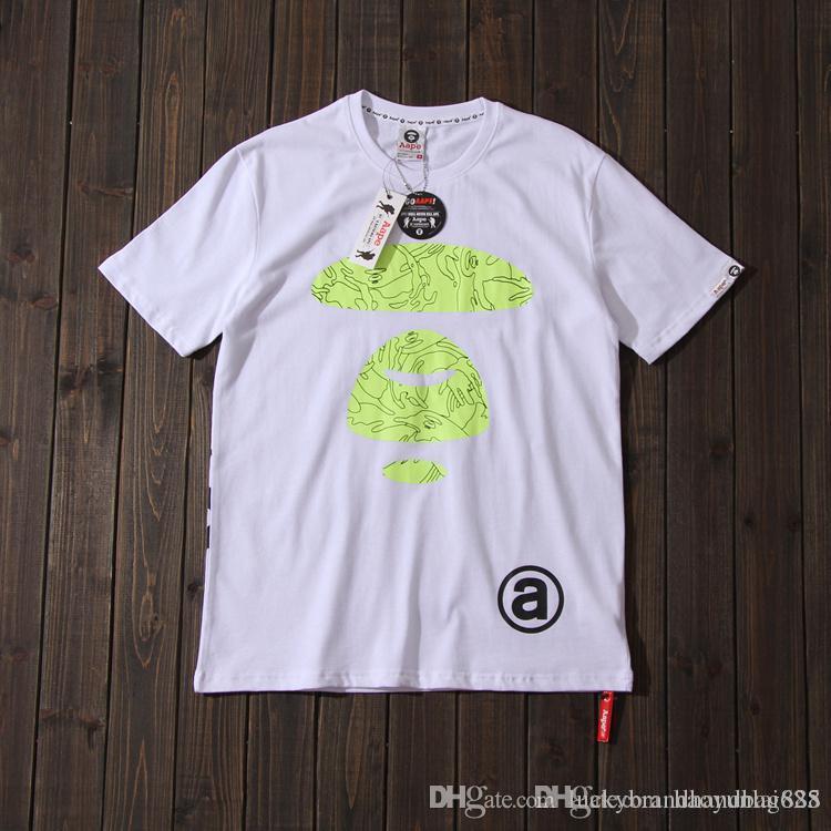 luxurys t thirt clássico do logotipo impresso estilistas tendência tshirt 2019 homens e mulheres verão street wear