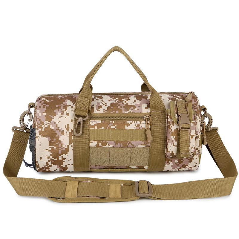 Camuflagem Sports Travel Bag Carry Overnight em sacos de bagagem Homens-de-semana Waterproof Bags Sac de sport Duffle Organizer Bag