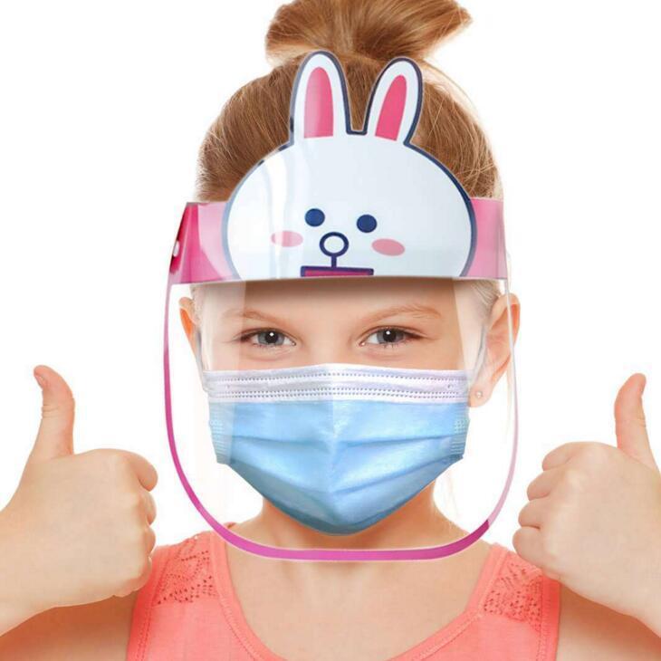 ANTI-ACCESSION TRANSPARENT VISAGE VISAGE PET SÉCURITÉ ECO Sécurité CLEAR Bouclier anti-brouillard réutilisable Masque de protection anti-éclaboussures anti-éclaboussures TDGAK