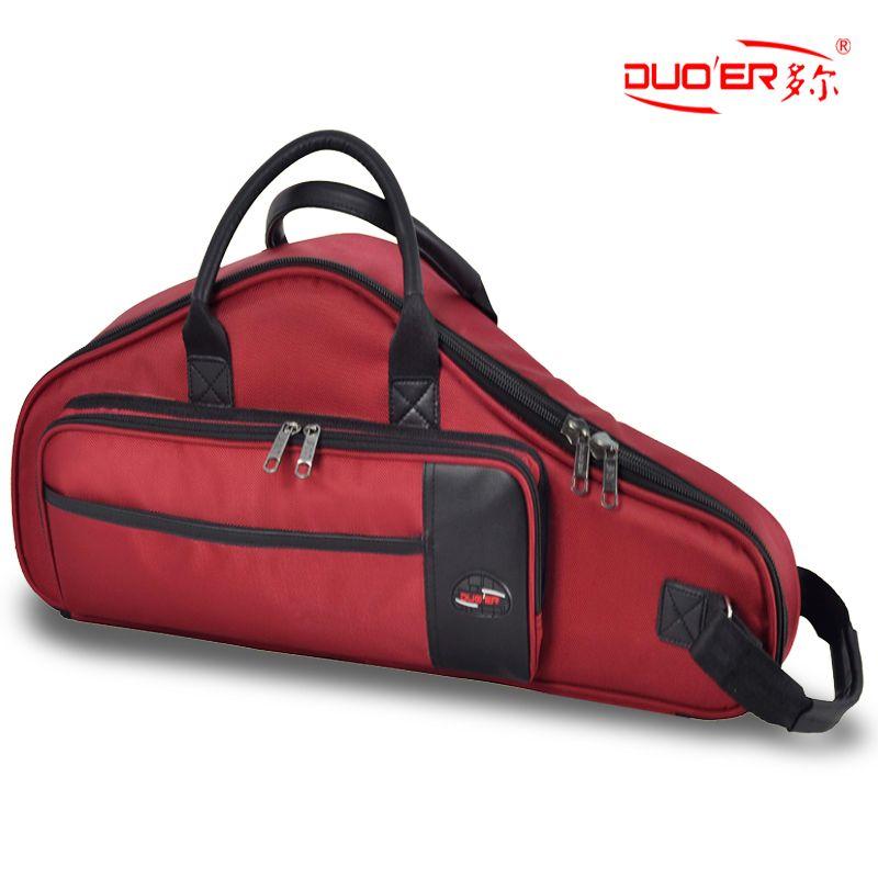 Роскошный профессиональный портативный изгиб саксофон рюкзак мягкий инструмент пакет чехол концертная сумка крышка плеча messenge