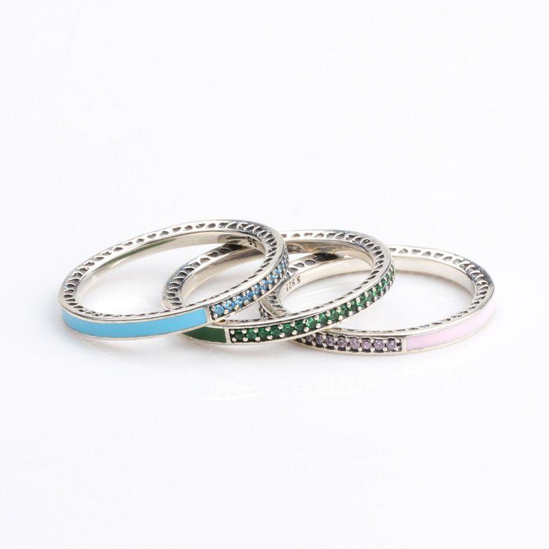 anello pandora pietra blu