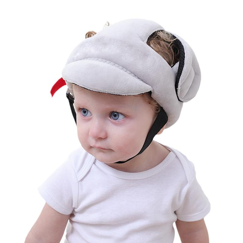 Toddler Walking Play Head Protect No Bumps Helmet Adjustable Baby Kids Safety Head