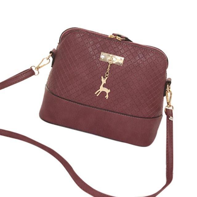Bestwomen Messenger Bags Fashion Mini Bag Deer Toy Shape Bag Shoulder Bags Designer Famous Brand MAY14
