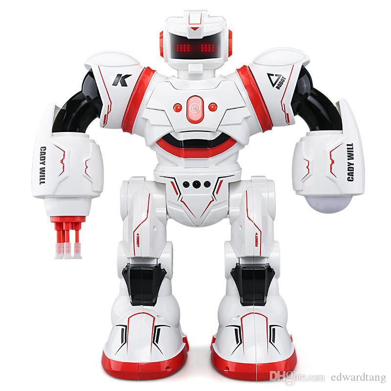 JJRC R3 روبوت التحكم عن بعد، ذكي اللمس لفتة الاستشعار، الغناء والرقص، مرافقة لعبة، حفلة عيد الميلاد هدايا عيد الميلاد