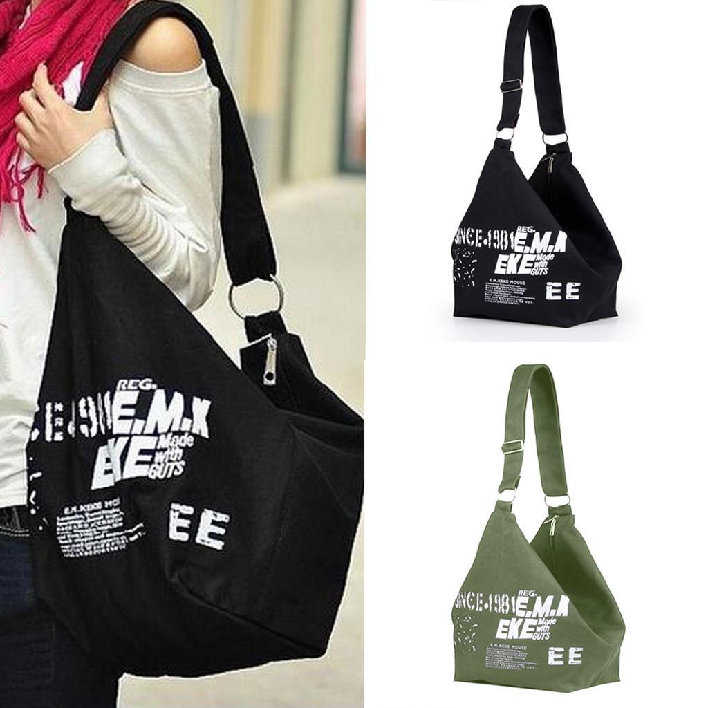 Borse della borsa delle donne del progettista di modo Sacchetto di viaggio della lettera della grande lettera di tela delle signore Borsa bolsa feminina Dropship # BA30