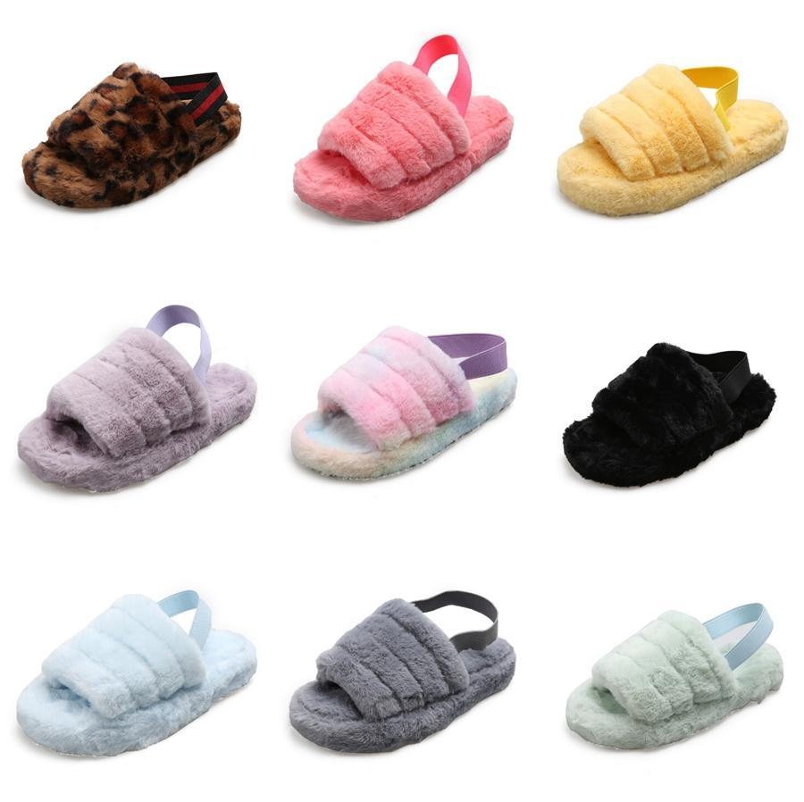 Rimocy morbida pelle Clip-Toe Pantofole donna Colori Candy confortevole appartamento Infradito donna estate 2020 casuale Beach Slippers # 668
