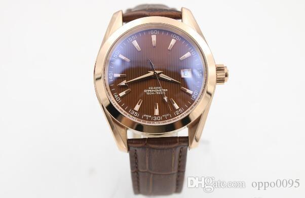 2017 роскошные часы высшего качества Bffactory Maker 42 мм x 12 мм Planet Ocean коаксиальная розовое золото механизм автоматические мужские часы Часы