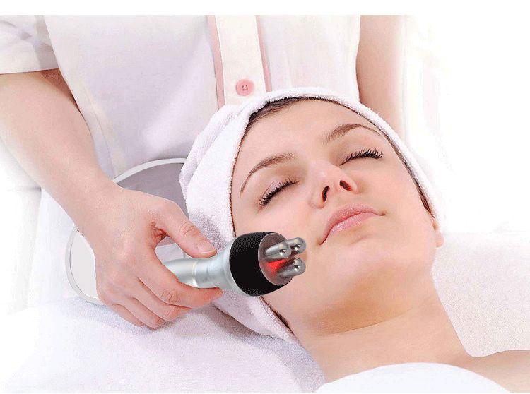 ترددات الراديو آلة الوجه الجلد الرفع تجديد مساج الوجه العناية بالبشرة جمال جهاز متعدد الأقطاب تدليك جهاز