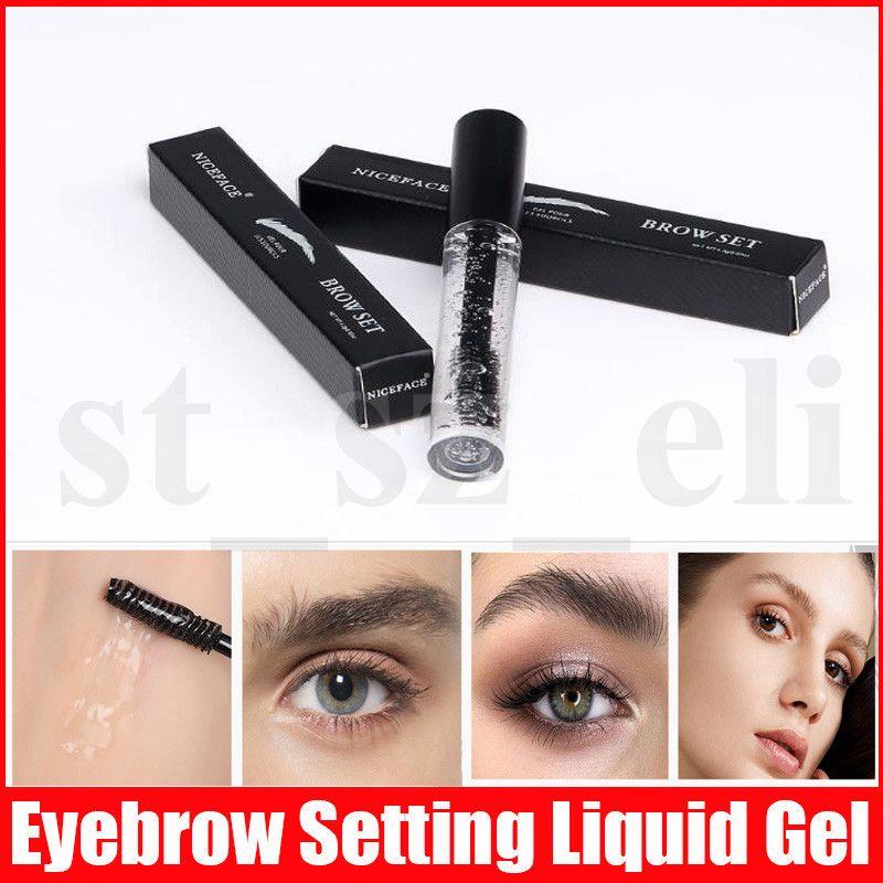 Eye Makeup Eyebrow Setting Liquid Gel Transparent Long Lasting Beauty Holding Liquid Eye Brow Set 4.3g