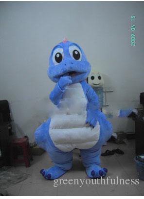 Динозавр дельфин г дельфинов мультфильм куклы костюмы талисмана реквизит костюмы Хэллоуин бесплатная доставка