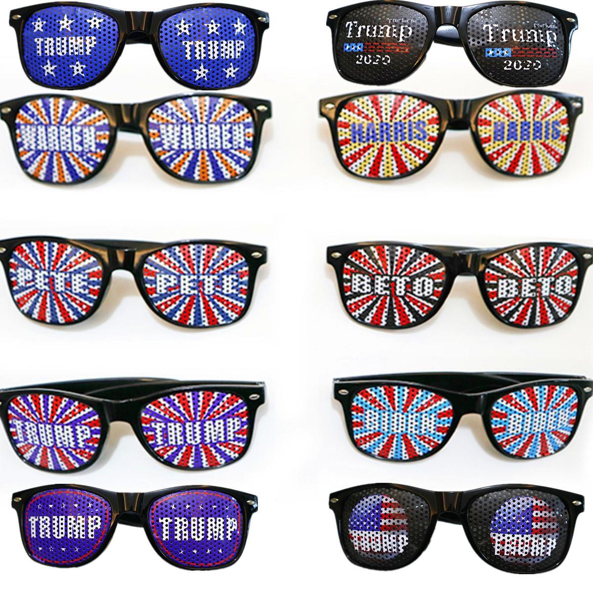 Дизайн Солнцезащитные очки Donald Trump 2020 Очки Письмо печати Спорт Мода Прочный очки Открытый Путешествие Бич ВС Очки Америка Great Hot