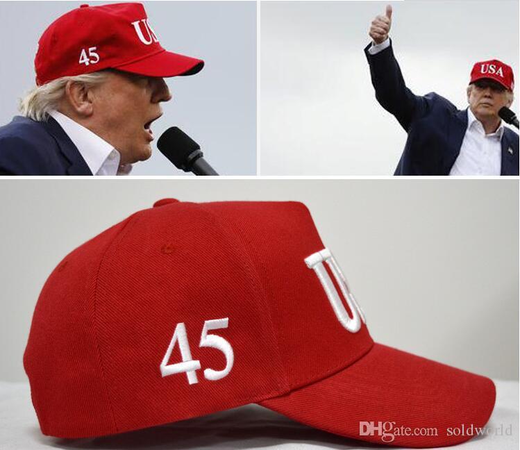 Горячие продажи Donald Trump 2020 Бейсболки сделать Америку Великой Снова Hat Вышивка Республиканского президента Trump колпачков