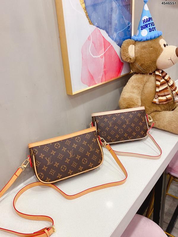 2020 Bag Bolsas Wedding Mulheres Estilo do clássico de alta qualidade Moda Bolsas de Ombro Messenger Bag Lady Totes Bolsas e bolsa de pó com caixa 100