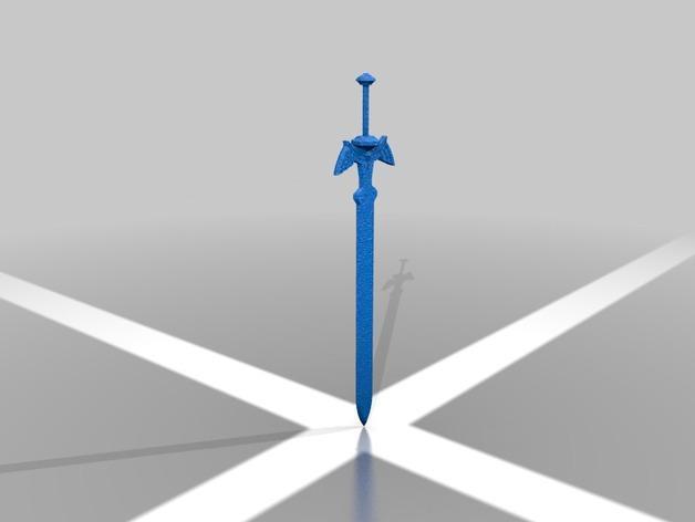 Maître épée pour de haute précision de haute qualité des modèles numériques d'impression 3D des objets classiques ST2208
