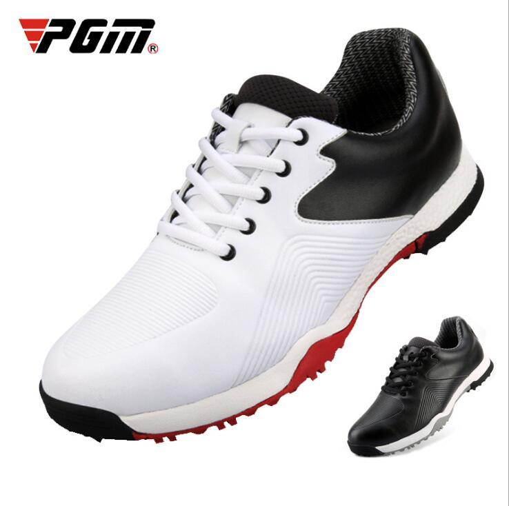 2020 Golf Men's Waterproof Shoes Breathable Antiskid Training Golf Sneakers Men Professional Athletic Shoes Size 39-44 D0756
