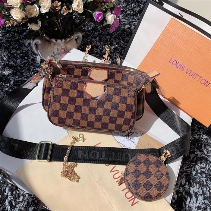 Fashion del progettista famoso di marca donne di cuoio borse vintage Tracolla signora pochette di lusso sera Messenger Bags A7678