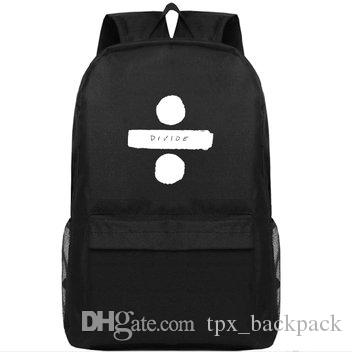 Ed backpack Edward Sheeran تقسيم اليوم حزمة Sharp of you حقيبة مدرسية جودة packsack الترفيه حقيبة الظهر الرياضة المدرسية daypack