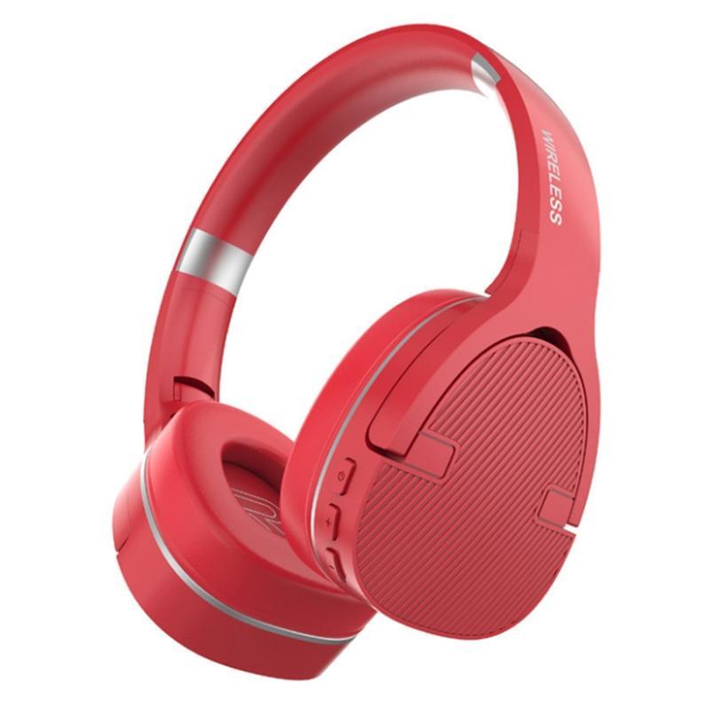 Bluetooth Headset Earphone Wireless Headphones Music Player Stereo Foldable Sport Earphone Microphone headset Handfree 5.0 Support TF Card