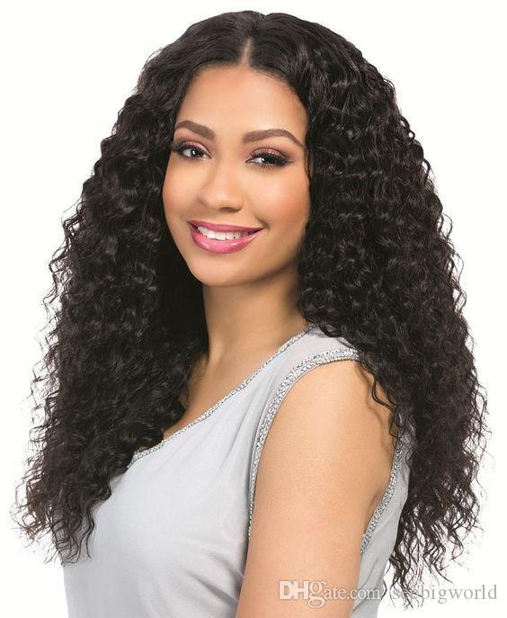 Top qualité femmes longue perruque frisée crépue African Ameri nouvelle coiffure cheveux brésiliens simulation cheveux crépus perruque pour dame