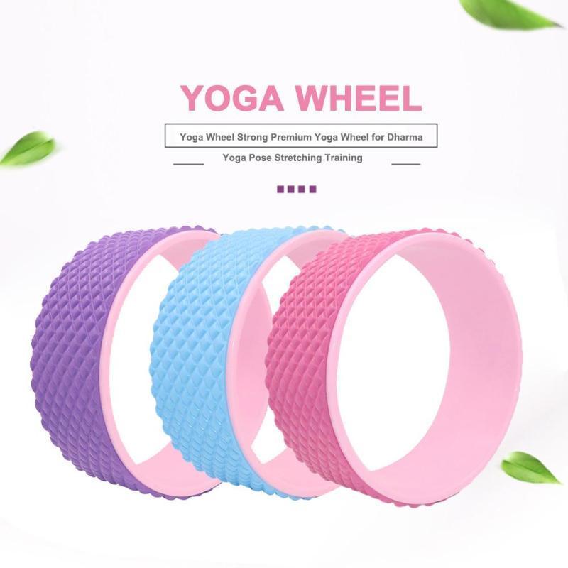 32 * 13см Вспомогательные колеса Беременные женщины Родитель-ребенок Йога колеса оборудование для фитнеса Йога Фитнес Брюшной