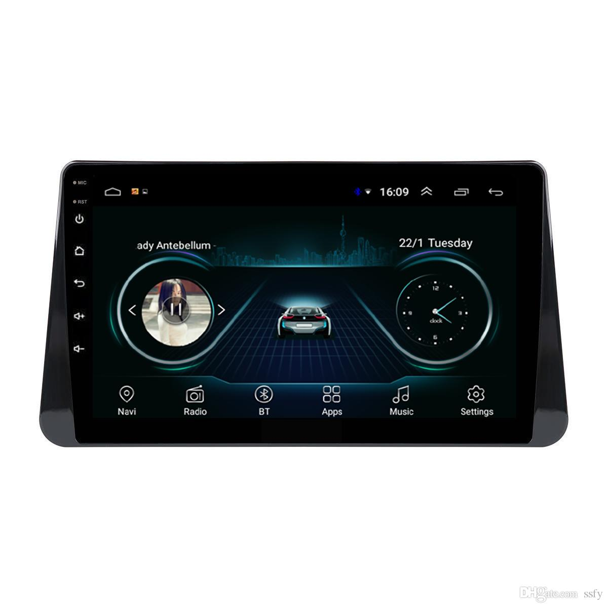 Android car radio with vidio HD1080 multi-touch screen excellent bluetooth microphone tape recorder for Nissan kicks march 9inch