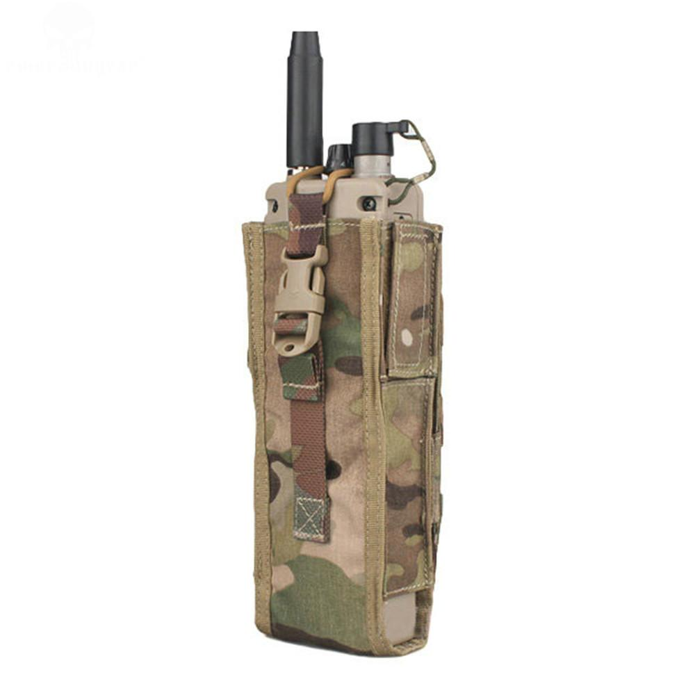 Details about  /New Tactical Molle PRC 148 MBITR Walkie-Talkie Radio Pouch Nylon Airsoft