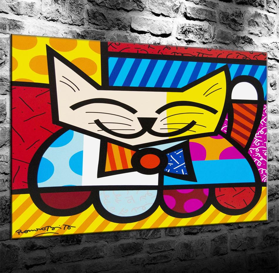 Sala Com Quadro Romero Britto,HD Canvas Printing New Home Decoration Art Painting/(Unframed/Framed)marvel Villains