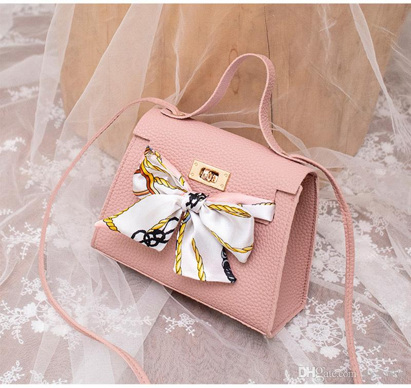 Women Handbags High Quality PU Leather Silk Scarf Lock Buckle Shoulder Bags Party Ladies Clutch Messenger Bag Package