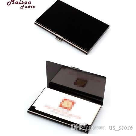 Maison Fabre-Kartenetui Kartenhalter Kreativer Aluminiumhalter Metall-Box Cover Kredit Visitenkarte Brieftasche 40