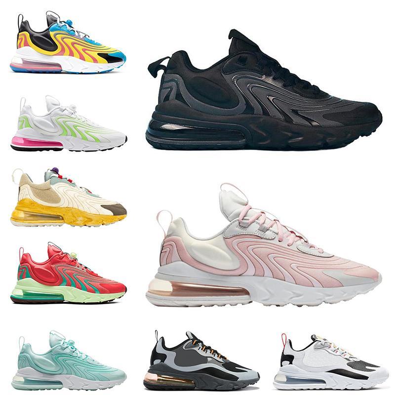 реагирующие ENG мужчины женщины Barely Rose кроссовок Bauhuas Неон тройной черный мужской тренер де Chaussures Zapatos кроссовки 36-45