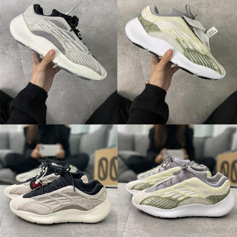 2020 Top-Qualität mit Box Günstige 3m 700 V3 Azael Kanye West Schuhe Herren Laufschuhe für Männer 700s Schuhe Sport Tripler Fashion Sneakers d410 #