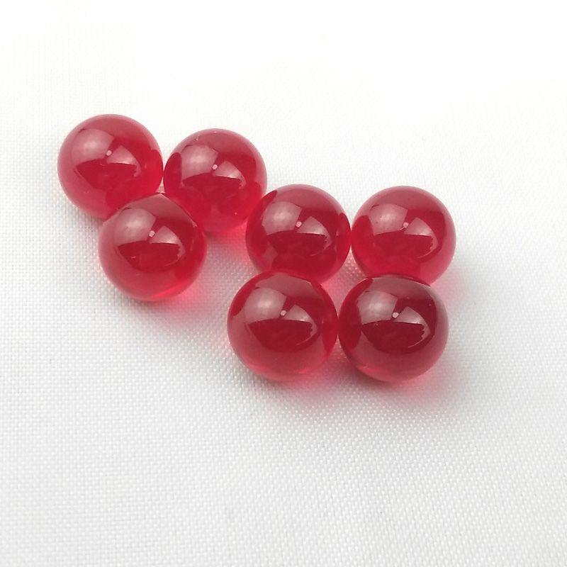6mm 8mm Ruby Terp Pérolas Quartz Dab Beads Balls Insertos para girar Cabs Caps Quartz Banger Glass Water Bongs Dab Rigs