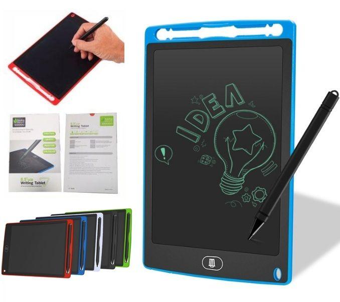 8.5 بوصة LCD رقمية الكتابة الرسم اللوحي مجلس الالكترونية السبورة الصغيرة رقية مكتب الكتابة اليدوية وسادات مع قلم للطفل TOP