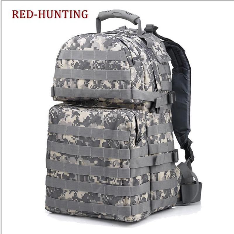 New US Army Gear ACU 30L Tactical Backpack MOLLE Assault Pack for Camping Hiking Hunting Travelling Nylon Bag Fits 15 Laptop