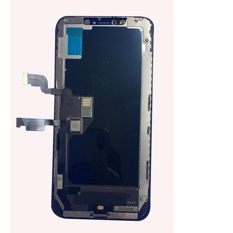 For iphone x LCD OLED Screen Digitizer replacement Black color grade A quality 12 months waranty high brightness no dead point free shiping