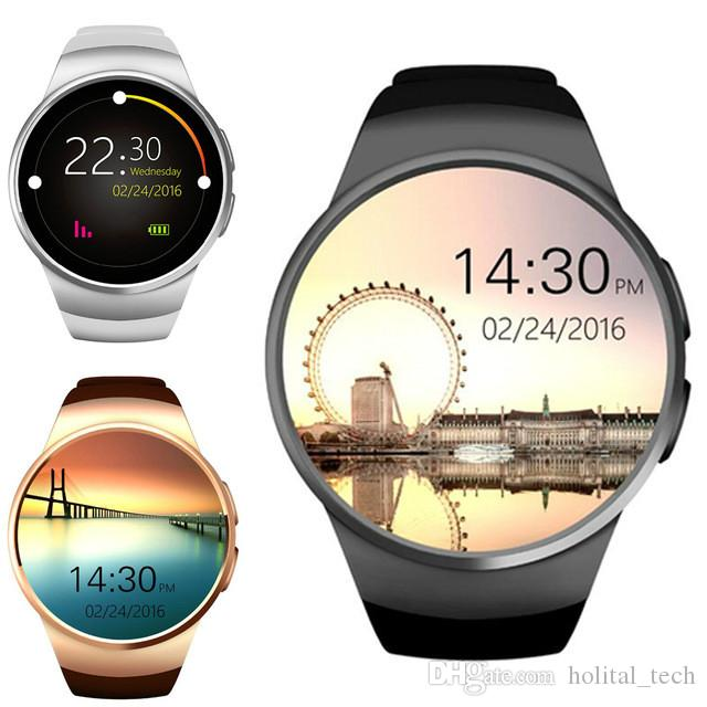 High Quality Sport Tracking A6 KW18 Smart Watch 2020 Bluetooth Andriod Sport Smart Watch Full Touch Screen Support SIM TF Card Smartwatch