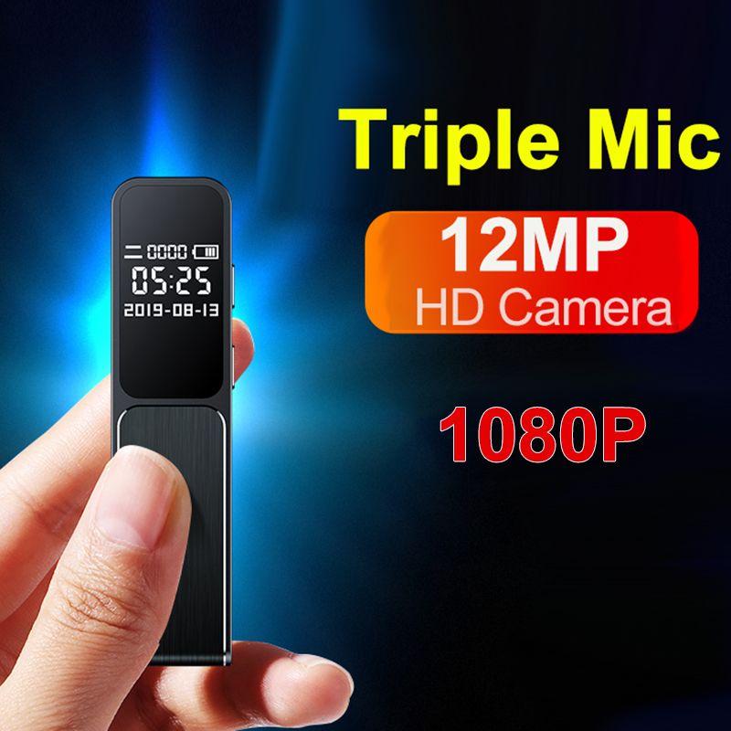 ميني مايكرو المهنية مسجل صوت القلم فيديو صور كاميرا 1080P تسجيل المحمولة في الهواء الطلق طلاب الصف الكبار الأعمال