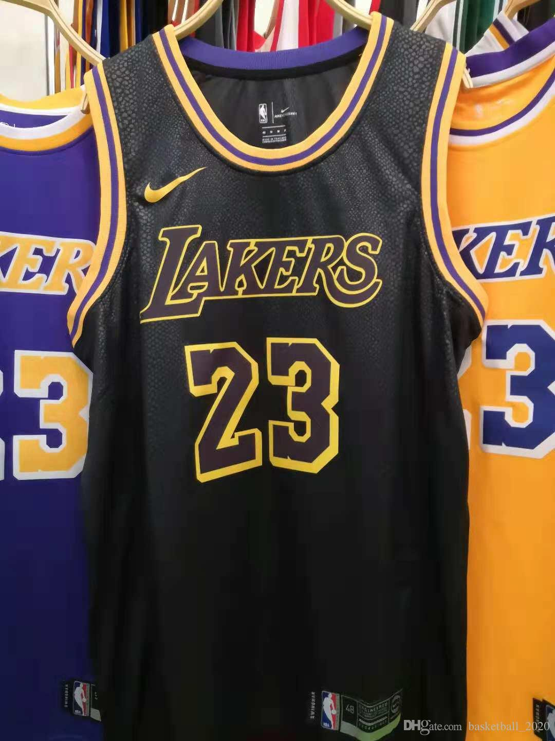 Lakers Black Jersey 2020 - Free Wallpaper HD Collection