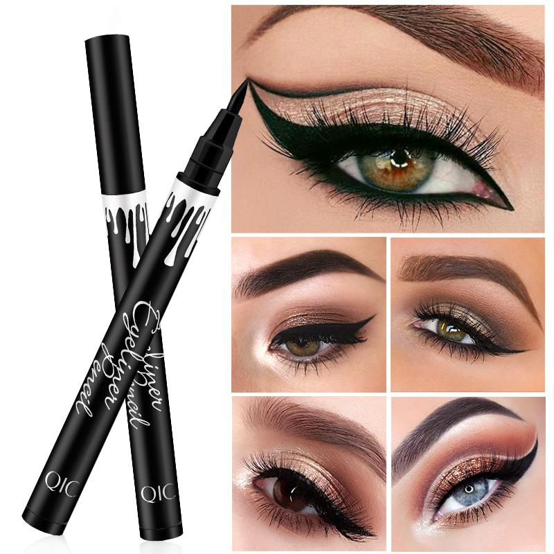 Black waterproof eyeliner pen big eye makeup lasting fluff making soft quick-drying eyeliner beauty eyes tools