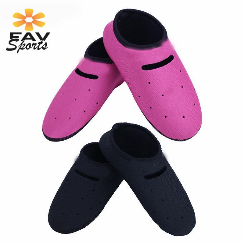 1Set/2Pcs Men Women Swim Diving 2mm Neoprene Scuba Diving Socks Unisex Fins Sock Surfing Beach Boots Wesuit Water Sports Wear