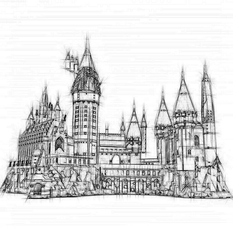 2019 Nouveau 16060 S1192 Harry Potter film Série 71043 Château de Poudlard Set Building Blocks Briques enfants Jouets Maison modèle Cadeaux de Noël