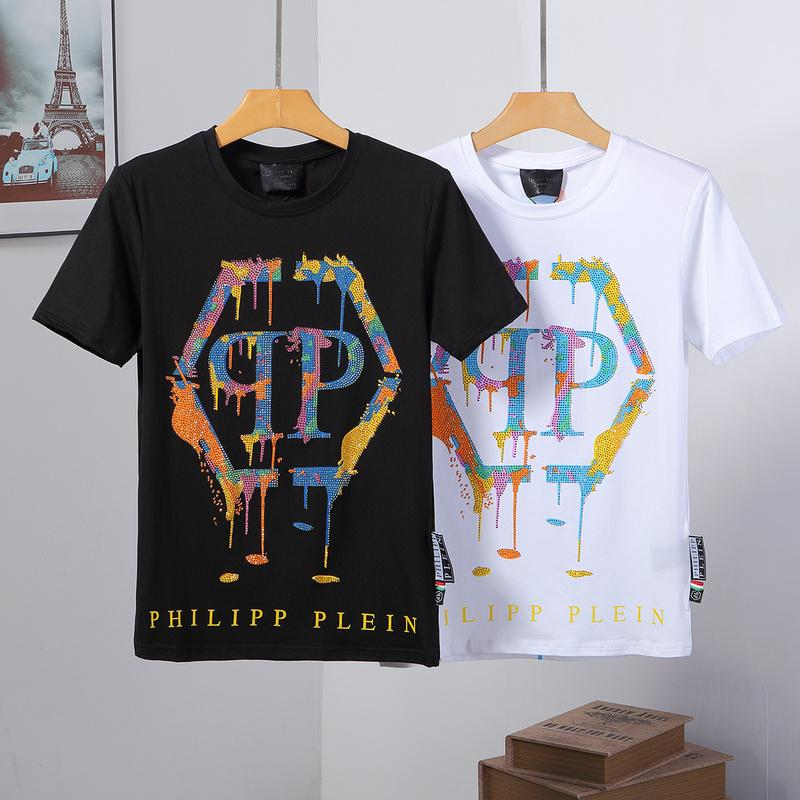 2020SS-Balman Sweat Designer de T-shirts femmes du cou de l'équipage hommes brodé Lettrage T-shirt décontracté