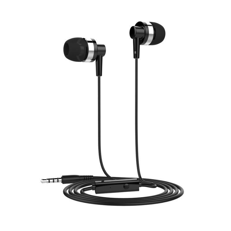샤오 미 삼성 PC 흑백위한 마이크 Langsdom JD89 jd88 3.5mm의 IN-EAR 이어폰 슈퍼베이스 전문 헤드셋