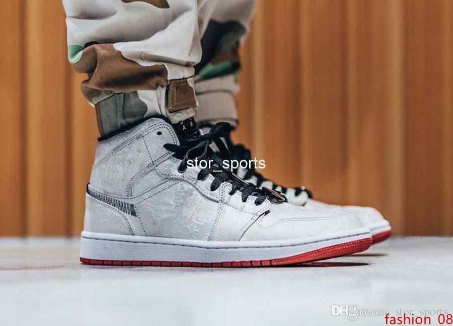 2019 nouvelle version CLOT x 1 Mi intrépide Edison Chen hommes de basket-ball chaussures 1 S Designer Sport Sneakers CU2804-100 Eur 40-45