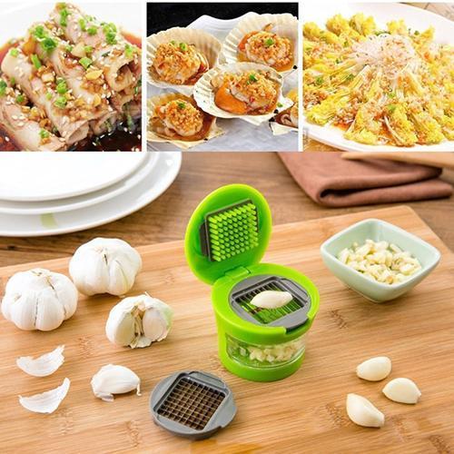 Sarımsak Basın Yüksek Kalite Mutfak Pratik Ev Mutfak Araç Seti Sebze Kesici El Basın XD23308 Malzemeleri