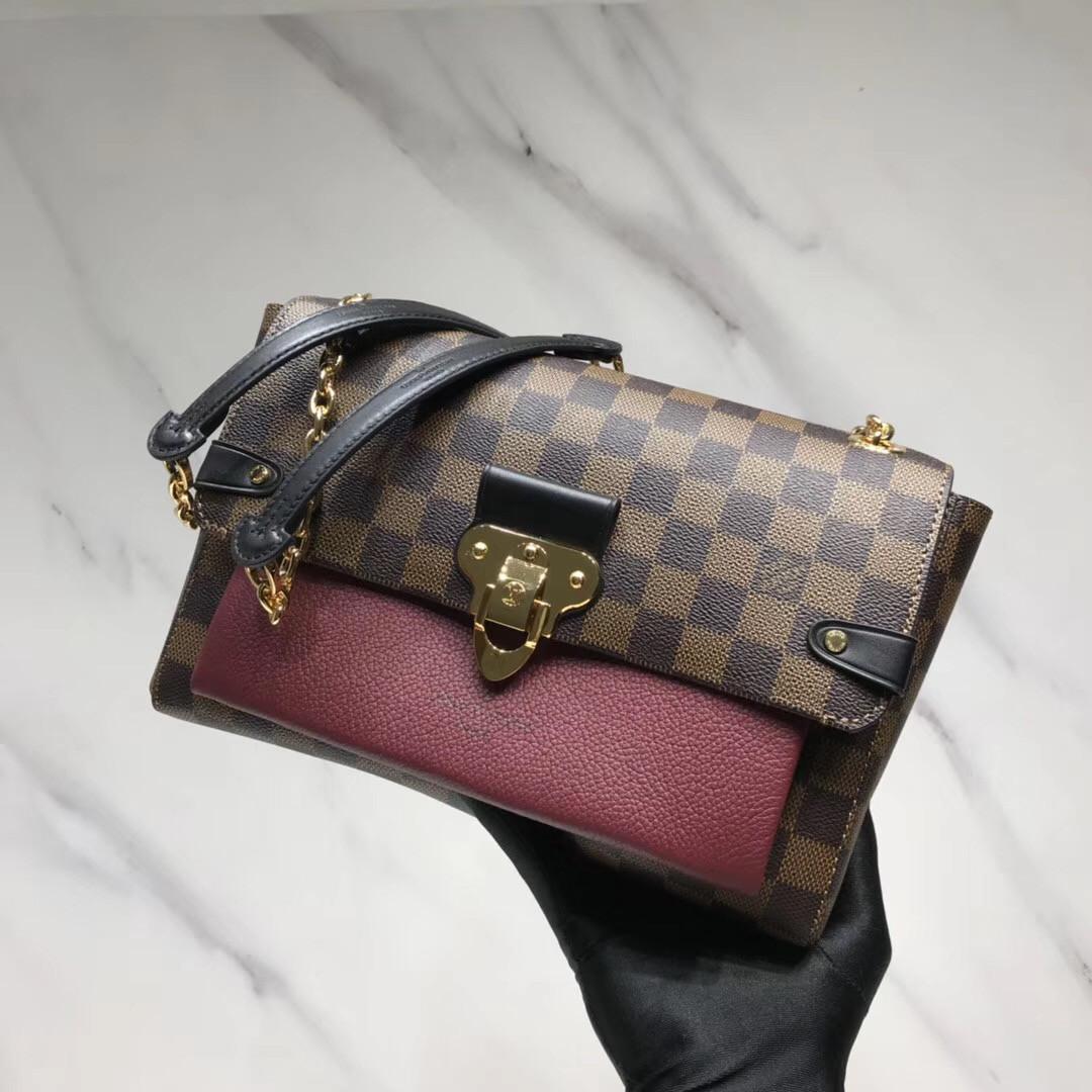 bolso del partido color2020 Nueva Impresión portátil mensajero del hombro del bolso clásico de lujo de la popular retro hombres y mujeres bolsos de oro Cadena